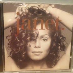 JANET JACKSON - JANET(1993/ VIRGIN/ HOLLAND) - CD NOU/SIGILAT/ORIGINAL/POP - Muzica Dance virgin records