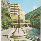 Bnk cp Baile Herculane - Hoteluol Roman - circulata - marca fixa - Carte Postala Banat dupa 1918, Printata