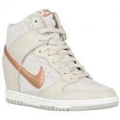 Nike Dunk Sky Hi | 100% originali, import SUA, 10 zile lucratoare - e080516g - Gheata dama Nike, Alb
