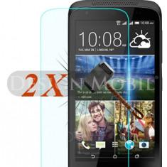 2X FOLIE DE STICLA HTC DESIRE 526 TEMPERED GLASS SUPER OFERTA (2 BUC) - Folie de protectie