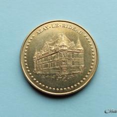 Jeton FRANTA / AZAY - LE - RIDEAU 2014 - Jetoane numismatica