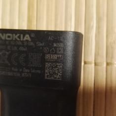 Alimentator Incarcator Nokia AC-11E 5V 450mA - Incarcator telefon Nokia, De priza