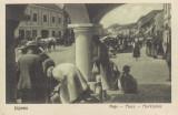 LIPOVA    ARAD   PIATA  VILIAM  KLEIN  BAZAR  LIPOVA, Necirculata, Printata