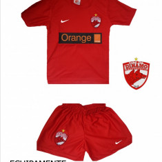ECHIPAMENTE FOTBAL DINAMO, COPII 4-14 ANI, - Set echipament fotbal Nike, Marime: XXL, XL, L, M, S