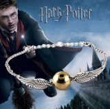 Bratara Harry Potter - Golden Snitch - Angel Wing
