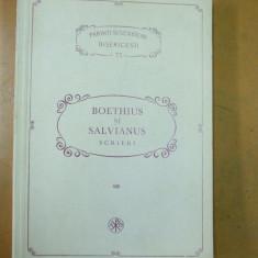 Parinti si scriitori bisericesti PSB 72 Boethius si Salvianus Scrieri 1992 - Carti ortodoxe