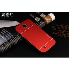 Carcasa pelicula alumniu MOTOMO Samsung Galaxy S4 mini i9190 + folie ecran