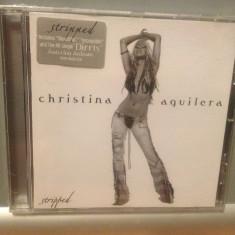CHRISTINA AGUILERA - STRIPPED(2002/ BMG /GERMANY) - CD NOU/SIGILAT/ORIGINAL/POP, ariola