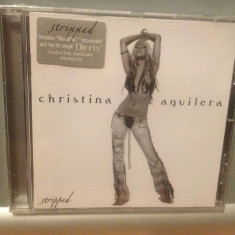 CHRISTINA AGUILERA - STRIPPED(2002/ BMG /GERMANY) - CD NOU/SIGILAT/ORIGINAL/POP - Muzica Dance ariola