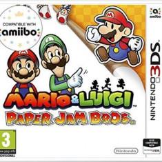 Mario & Luigi Paper Jam Nintendo 3Ds - Jocuri Nintendo 3DS, Actiune, 3+, Multiplayer