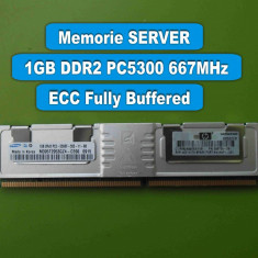 Memorie Server DDR2 1GB PC5300 667MHz ECC Samsung M395T2953GZ4-CE66