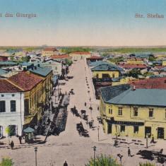 GIURGIU, STRADA STEFAN CEL MARE - Carte Postala Muntenia dupa 1918, Necirculata, Printata