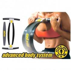 Gold's Gym ABS - aparat fitness pentru brate abdomen si coapse - Aparat pentru abdomen