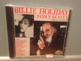 BILLIE HOLIDAY with TONY SCOTT(1990/SAAR /EEC) - CD NOU/SIGILAT/ORIGINAL/JAZZ