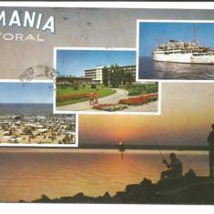 @carte postala(ilustrata)-LITORAL - Carte Postala Dobrogea dupa 1918, Circulata, Printata