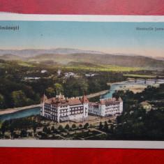 Carte postala - Calimanesti - Hotelurile Jantea - Carte Postala Oltenia dupa 1918, Circulata, Printata