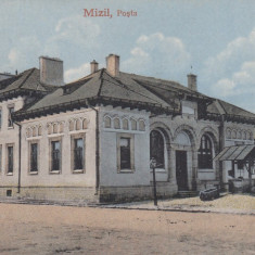 MIZIL, PRAHOVA, POSTA, CIRCULATA - Carte Postala Muntenia 1904-1918, Printata