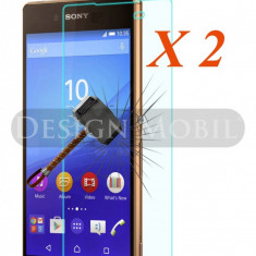 2X FOLIE DE STICLA SONY XPERIA Z5 TEMPERED GLASS SUPER OFERTA (2 BUC) - Folie de protectie
