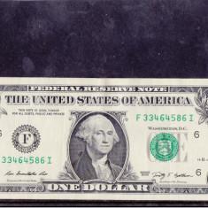 BBS1 - STATELE UNITA ALE AMERICII - UN DOLAR - 2009 - bancnota america