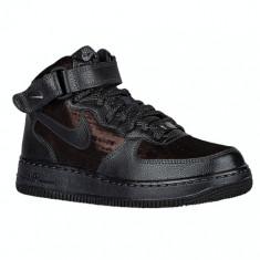 Nike Air Force 1 '07 Mid Prem | 100% originali, import SUA, 10 zile lucratoare - e080516g - Gheata dama Nike, Negru