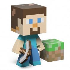 Minecraft Steve - 16 cm - Viny Actionl Figure - ORIGINAL JINX + Bratara CADOU !!