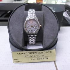Ceas citizen eco drive fd1034-55d (lct) - Ceas dama Citizen, Analog