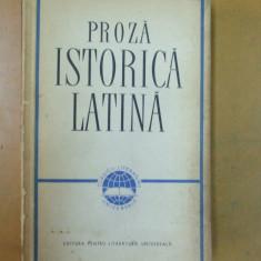 Proza istorica latina Suetonius Cezar Titus Livius Tacitus Curtius Sallustius