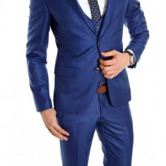 Costum tip ZARA - sacou + pantaloni - vesta costum barbati casual office - 6315, Marime: 44, 46, 54, Culoare: Din imagine