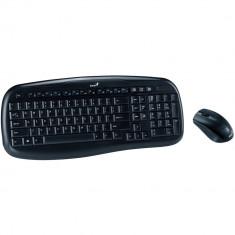 Kit tastatura + mouse wireless Genius KB-8000X, Fara fir