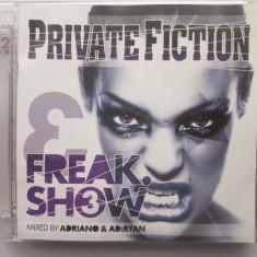 Adriano& Ad:Ryan – Private Fiction - Freak.Show 3 _ dublu CD Elvetia - Muzica House universal records