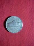 Moneda 5 centi 1952 SUA , Cu-Ni , cal.F.Buna, America de Nord