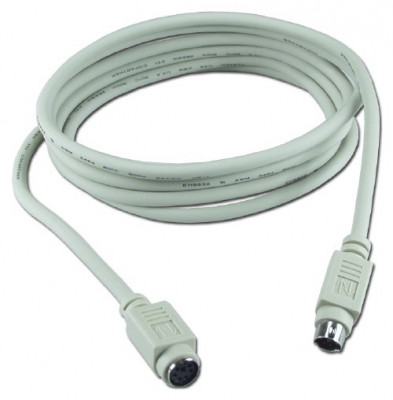 Prelungitor extensie cablu PS2 2m tastatura, mouse etc. foto