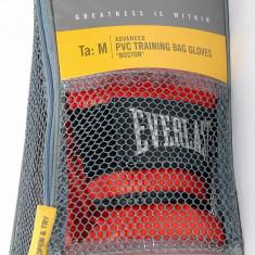 Everlast - Manusi de box Boston din PVC - pt antrenament la sac - masura M - Noi