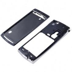 Carcasa Sony Ericsson Xperia Arc X12 2 piese Originala Neagra - Argintie SWAP