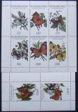 TUVA 1992 - FLUTURI, 2 M/SH NEOBLITERATE - TR 02
