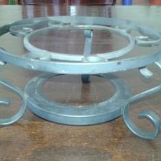 Suport vase fierbinti Incalzitor - Metal/Fonta