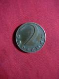 Moneda 2 grosi 1935 Austria ,cupru , cal.F.Buna