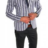 Sacou tip Zara Man in dungi casual - sacou barbati - sacou bumbac  cod 6326