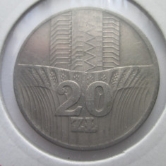 Polonia   20 zlotych   1974