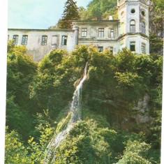 @carte postala(ilustrata)-GORJ-Manastirea Tismana - Carte Postala Oltenia dupa 1918, Circulata, Printata
