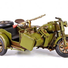 MODEL MOTOCICLETA MILITARA