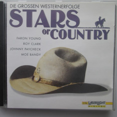 Various - Stars Of Country _ CD, Germania - Muzica Country Altele