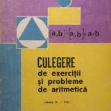 CULEGERE DE EXERCITII SI PROBLEME DE ARITMETICA clasele IV-VIII - Telinoiu - Culegere Matematica