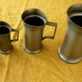 Set unitati volumetrice, zinc, marcaj Royal Dutch - Metal/Fonta