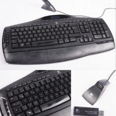 Tastatura Logitech MX 3200 wireless, Fara fir, USB