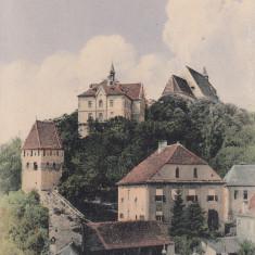 SIGHISOARA, CIRCULATA SEP.''909 - Carte Postala Transilvania 1904-1918, Printata