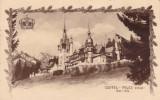REGALITATE ROMANIA  CASTEL PELES SINAIA 1883-1933  CIRCULATA 1933 EDITURA SOCEC, Printata