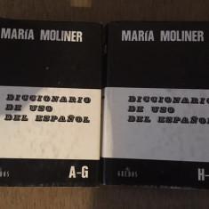 DICCIONARIO DE USO DEL ESPANOL - MARIA MOLINER - Curs Limba Spaniola