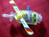 Miniatura - Jucarie- Helicopter marca Minghua . L= 9,1 ,cu arc