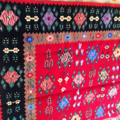 Covor tip persan vechi tesut din lana cu 2 fete